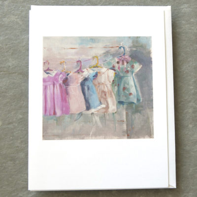 The Line Up 5x7 Art Card Patty Canney