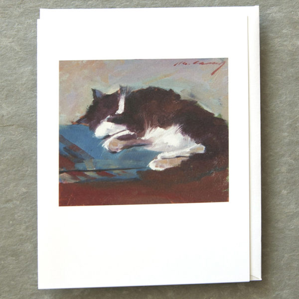 Hairy Potter Reclining Pose 5x7 Art Card Patty Canney