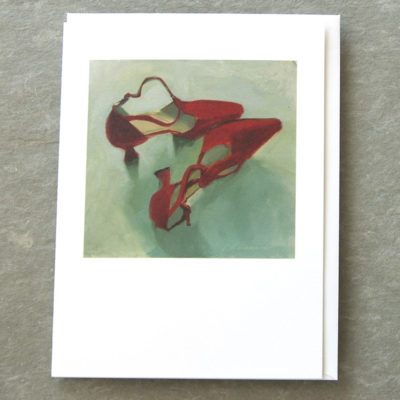 Patty Canney Art Cards Red Shoes