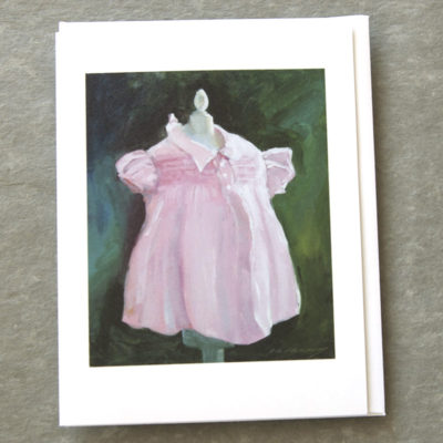 Patty Canney Art Cards 5x7 Sweet Pink Dress