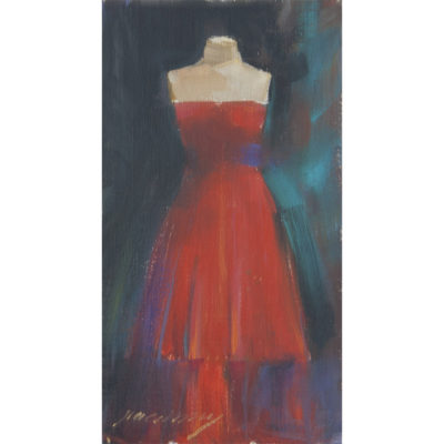 Patricia Canney artist Minneapolis Oils Garments Red